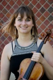 Violist Stephanie Mientka - Photo credit: Mary Scripko - June 2016