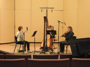CT Summerfest 2016: recording session of commissioned pieces